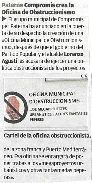 20131126 Casino Of Obstruccionisme Levante 26Nov2013